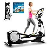Proform Smart Strider 495 CSE Vélo elliptique pliable, compatible Bluetooth Appli iFit Cardio...
